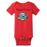 Mommy's Lil Shark One Piece Bodysuit Thumbnail