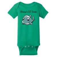 Daddys Little Shark One Piece Bodysuit Thumbnail